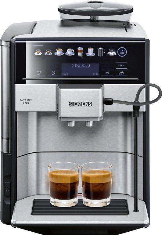 Amazon Prime Day: Siemens EQ.6 Plus s700 Kaffeevollautomat TE657503DE (1500 Watt) für 698€ (statt 798€)