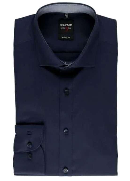 """Olymp Herren Hemden """"Level 5 Body Fit"""" oder """"Luxor Modern Fit"""" für je 24,88€ inkl. Versand (statt 38€)"""