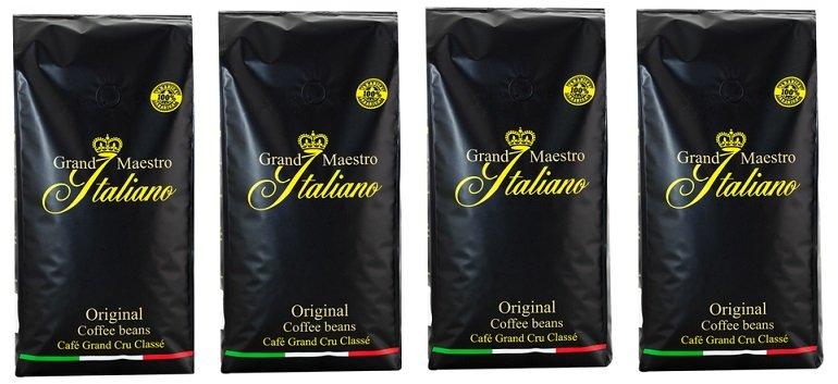 4er Grand Maestro Italiano Kaffeebohnen 2