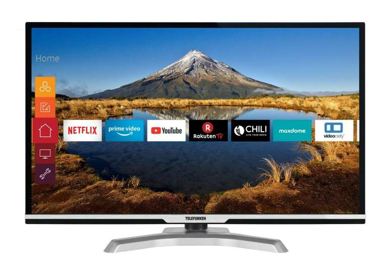 "Telefunken 32"" HD ready Smart TV (D32H470B4C) für 139,99€ inkl. Versand"