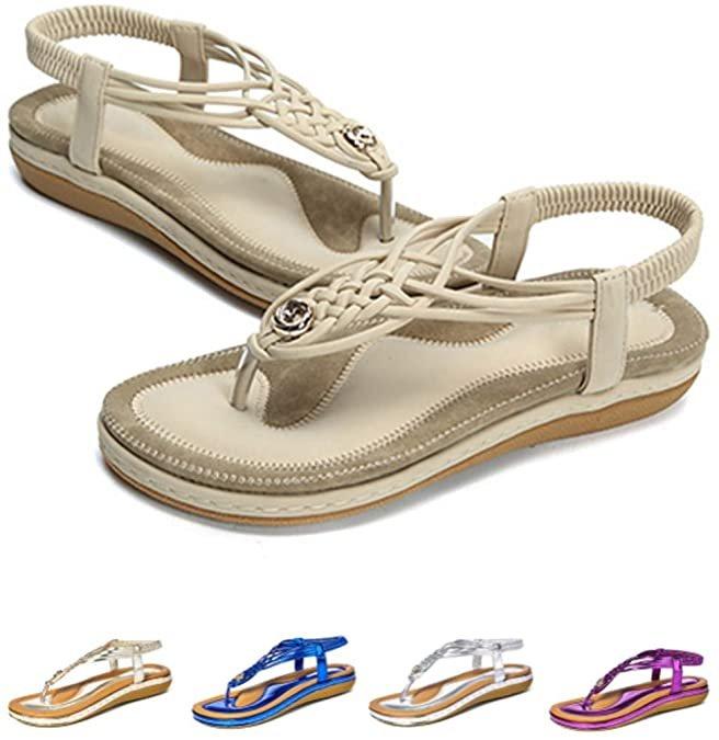 Camfosy Damen Sommer Sandalen (verschiedene Farben) für je 15,29€ inkl. Prime Versand (statt 25€)