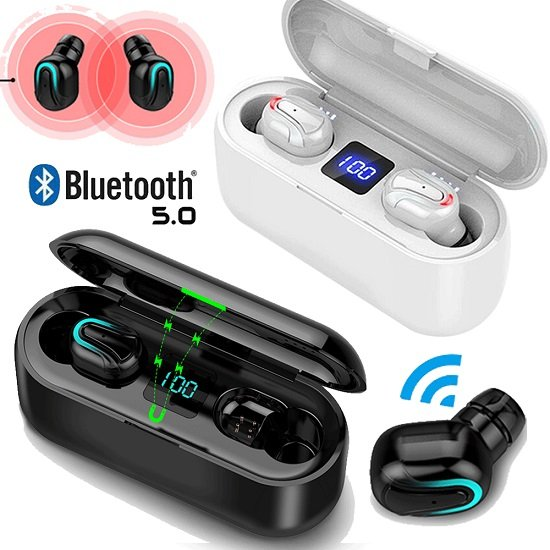 Kabellose Bluetooth 5.0 TWS In-Ear Kopfhörer für 13,89€ inkl. VSK