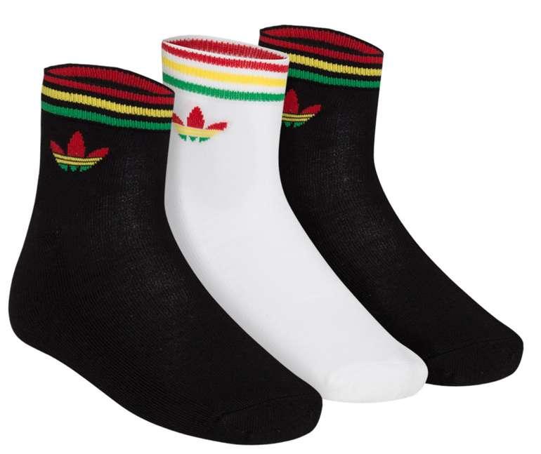 adidas Originals Trefoil Ankle Socken 3 Paar für 5,99€zzgl. Versand (statt 10€)
