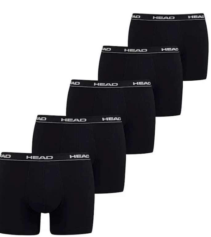 5er Pack Head Herren Boxer Boxershorts in schwarz oder weiß (Basic Pant) für 17,08€ inkl. Versand