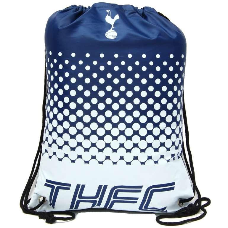 Premier League Fan Gym Bag (Westham & Tottenham Hotspur FC) je nur 6,99€ zzgl. Versand