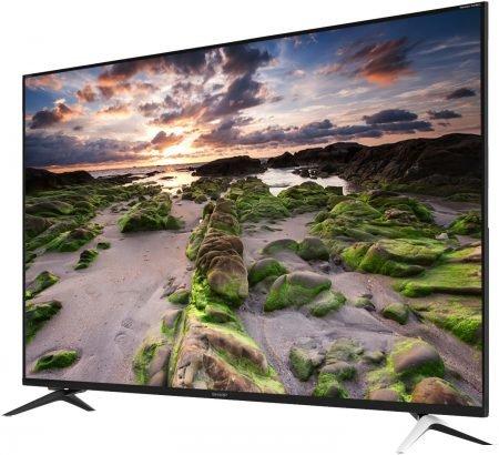 """Sharp LC-UI9362E - 60"""" UHD 4K Smart TV für 549€ inkl. VSK"""