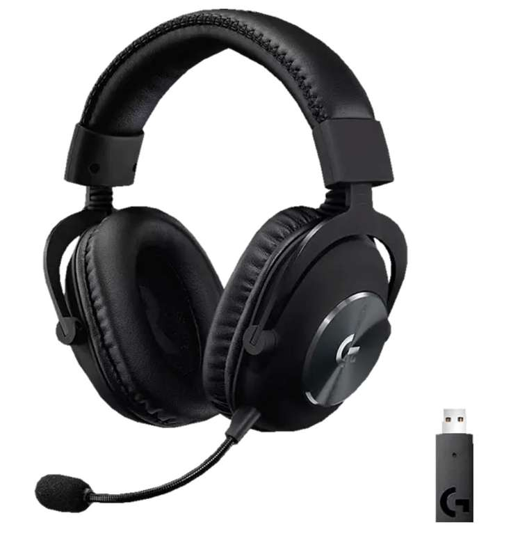 Logitech Kabelloses Pro X Lightspeed Over-ear Gaming Headset für 126,65€ inkl. Versand (statt 143€)