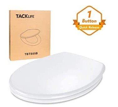 Tacklife O-Form Toilettensitz mit Absenkautomatik & Quick-Realse Funktion für 22,99€ (Prime)