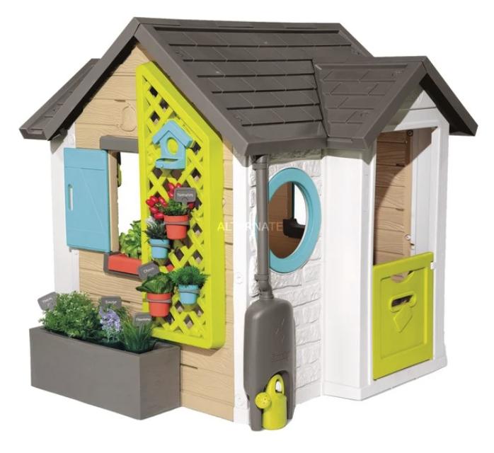 Smoby Kinder Gartenhaus Spielhaus (132 x 128 x 135 cm) für 209,90€inkl. Versand (statt 255€)