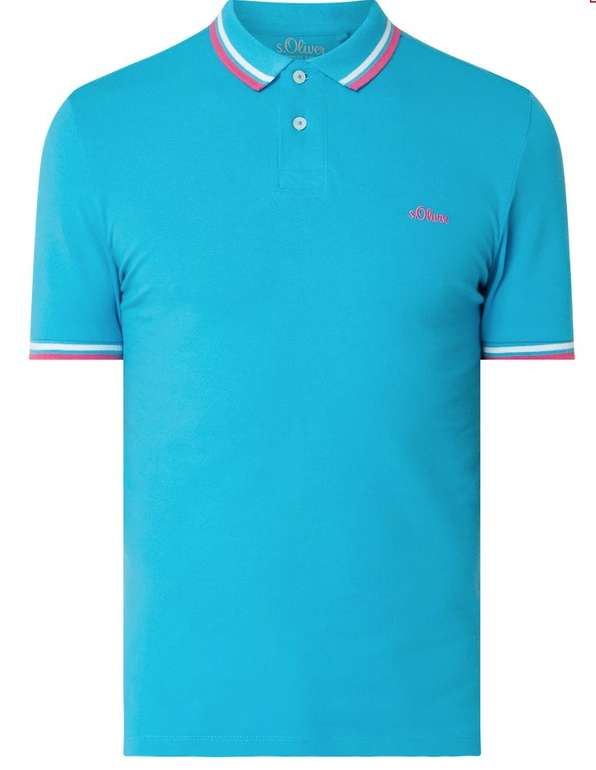 S.Oliver Red Label Slim Fit Poloshirt aus Piqué für 16,99€ inkl. Versand (statt 23€)