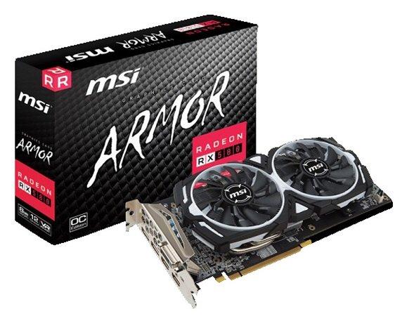 MSI Radeon RX 580 Armor OC 8GB GDDR5 für 175,89€ (B-Ware) inkl. VSK (statt 212€)