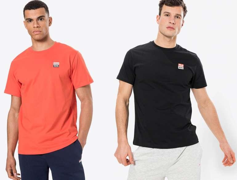 "Fila T-Shirt ""Boris"" in Rot oder Schwarz für je 23,95€ inkl. Versand (statt 45€)"