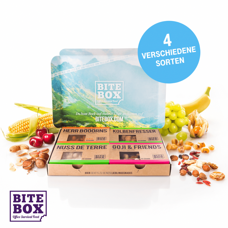 Gratis BiteBox Power Snacks für Telekom Kunden im Mega-Deal!