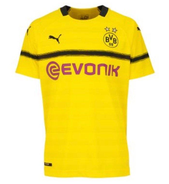 Puma BVB Borussia Dortmund Kinder Cup Shirt Ausweichtrikot Europapokal Trikot 18/19 für 14,99€