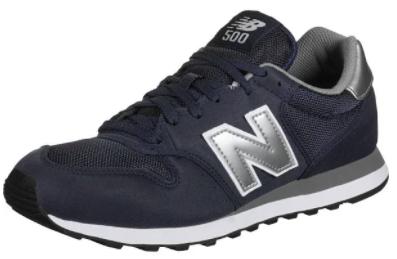 New Balance Herren 500 Sneaker in dunkelblau für 53,44€ inkl. Versand (statt 70€)