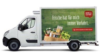Rewe Lieferservice 1 Monat kostenlose Zustellung + Gutschein