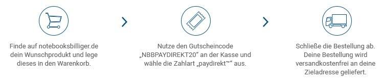 Notebooksbilliger Paydirekt 2