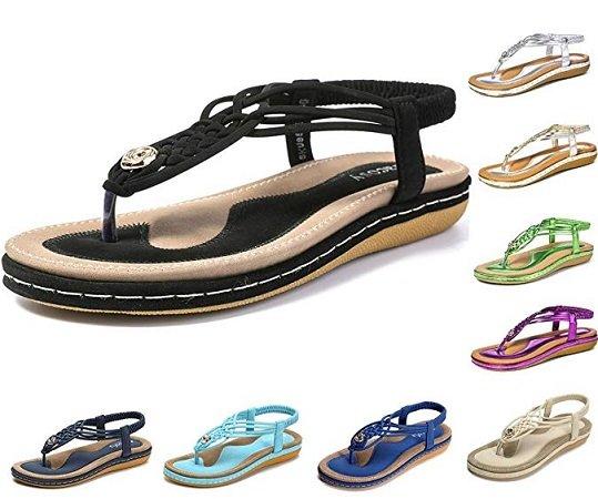 gracosy Damen Sandalen - verschiedene Farben ab 18,49€ inkl. VSK
