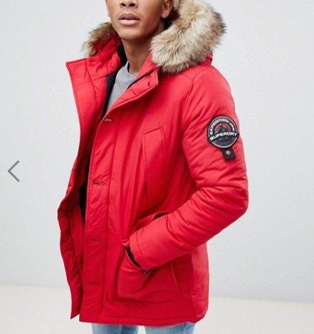 ASOS: Bis zu 50% Rabatt auf Winterkleidung - VSKfrei ab 29,99€, z.B. Parka 136€