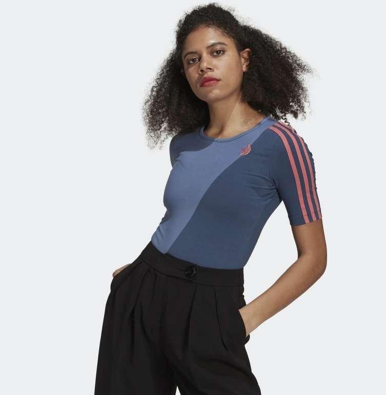 Adidas Adicolor Sliced Trefoil Damen Body für 16,80€ inkl. Versand (statt 26€) - Creators Club