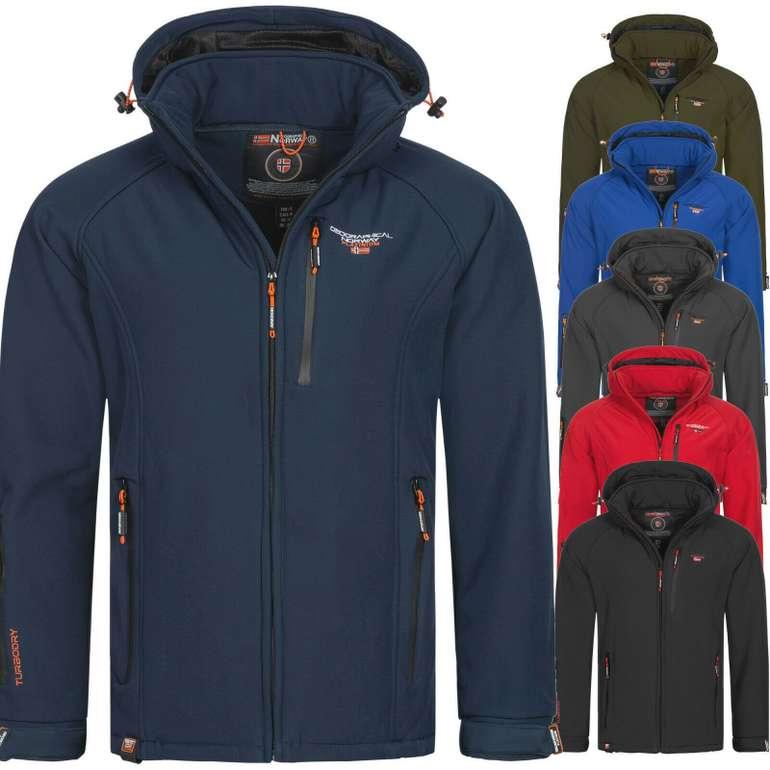 Geographical Norway OMTalbah Herren Softshell Jacke für 49,90€ inkl. Versand (statt 70€)