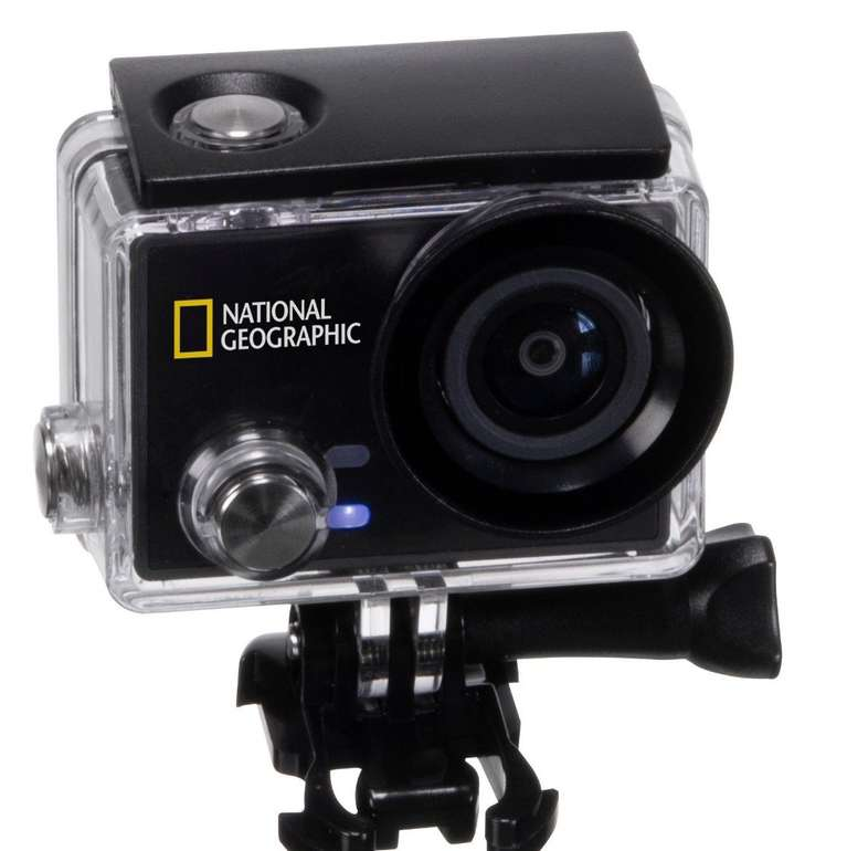 "National Geographic 4K, 30 FPS WLAN Action Camera ""Explorer 4S"" für 89,99€"