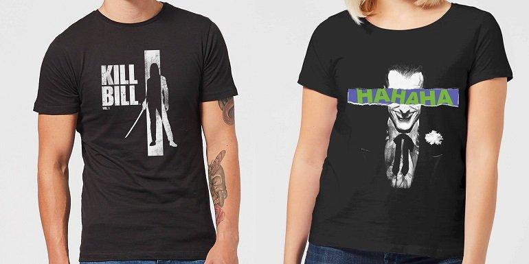 Kill Bill oder Joker T-Shirt inkl. 1 Paar Socken 2