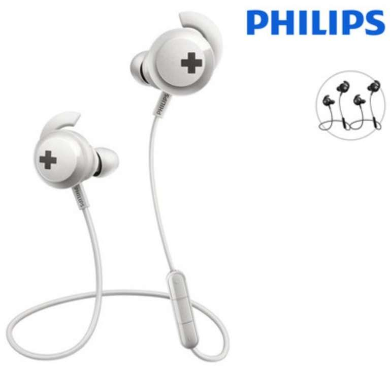 Philips Bass+ Bluetooth-Ohrhörer (SHB4305BK/00) für 6,95€ inkl. Versand (statt 14€)