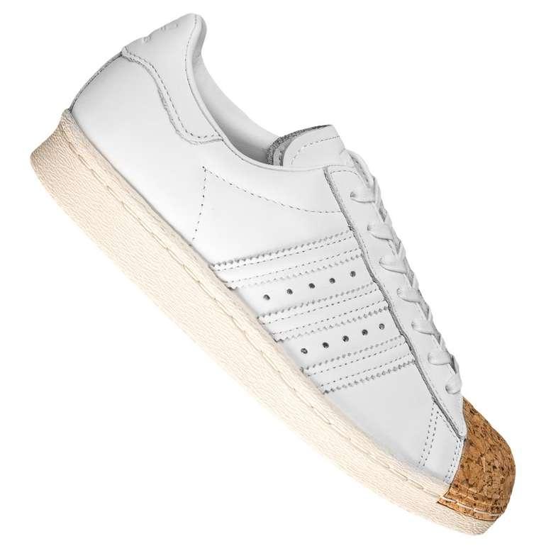 Restgrößen: Adidas Originals Superstar 80s Cork Sneaker für 57,99€ inkl. Versand