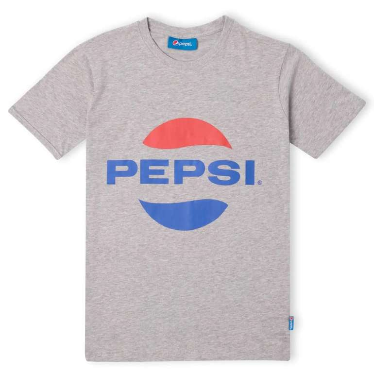 Pepsi Logo Herren T-Shirt in Grau für 8,99€ inkl. Versand (statt 18€)