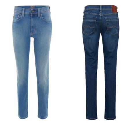 Mustang Washington Herren be flexible Jeans (Used Optik) für je 28,99€