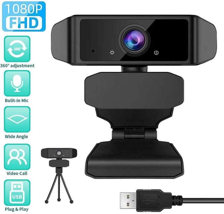 Gehuay 1080P Webcam mit Mikrofon für 16,63€ inkl. Prime Versand (statt 26€)