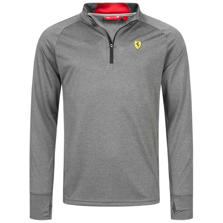 Scuderia Ferrari Midlayer Herren Sweatshirt für 24,41€ (statt 40€)