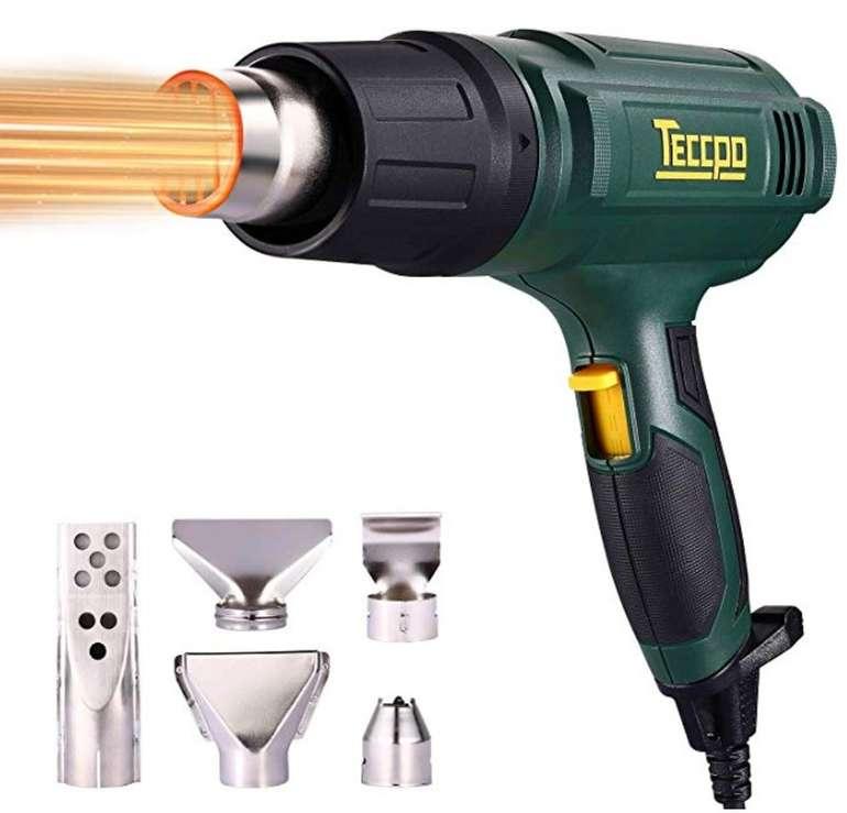 Teccpo TAHG07P Heißluftpistole mit 2000 Watt und Superluftvolumen (500L/min) ab 17,99€
