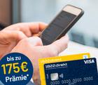 75€ Girokontoeröffnungs-Prämie + 100€ für Weiterempfehlung bei 1822direkt