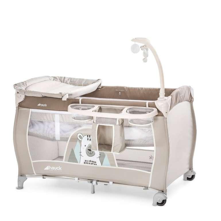 hauck Reisebett Babycenter in verschiedenen Ausführungen für 74,99€ (statt 99€)