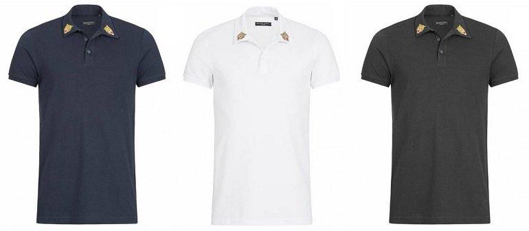 Brave Soul Venom Herren X3 Button Polo-Shirt