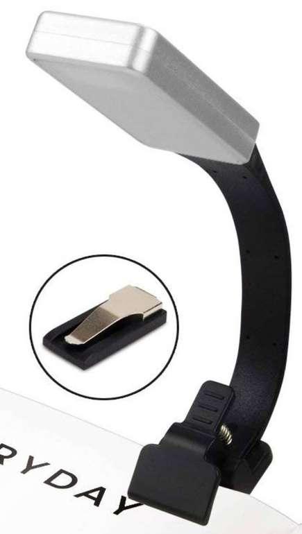 Yikanwen LED Leselampe mit Clip für 8,39€ inkl. Versand (Prime)