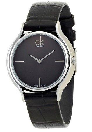 Calvin Klein Damen Quarz Uhr K2U231C1 mit Leder Armband für 64,24€ (statt 126€?)