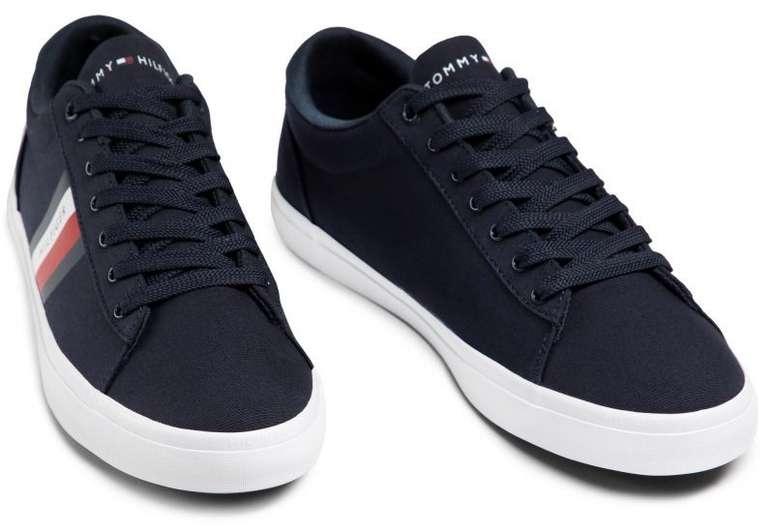 Tommy Hilfiger Sneaker - Essential Stripes Detal Desert Sky DW5 für 44,05€ inkl. Versand (statt 54€)