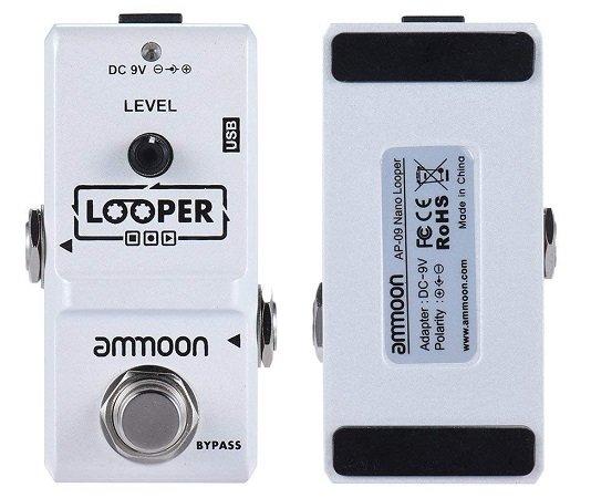 Ammoon AP-09 Nano-Looper für E-Gitarren (Effektpedal, True Bypass) für 21,59€
