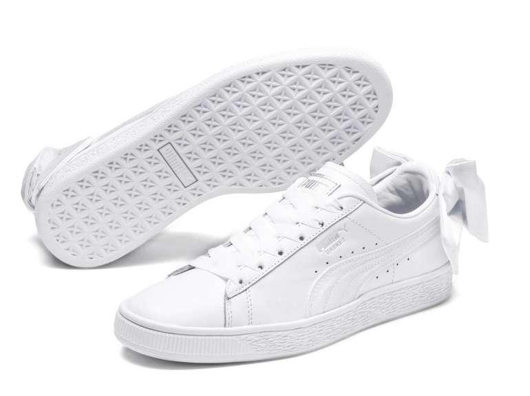 Puma Basket Bow Sneaker in weiß für 36€ inkl. Versand (statt 48€)
