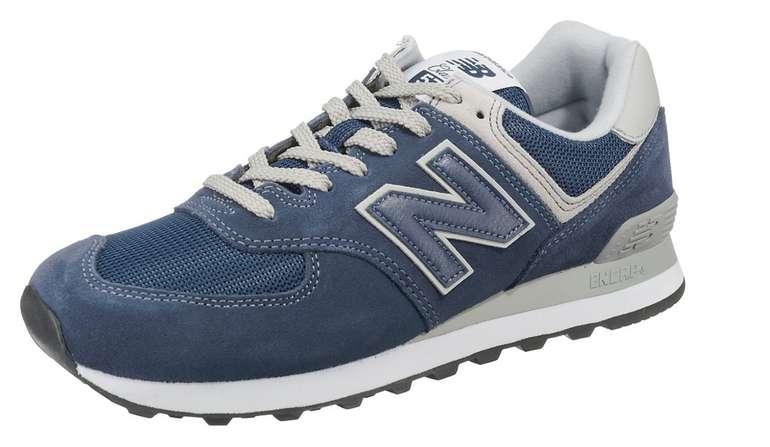 New Balance 574 Herre Sneaker Low in Dunkelblau für 36€ inkl. Versand (statt 42€)