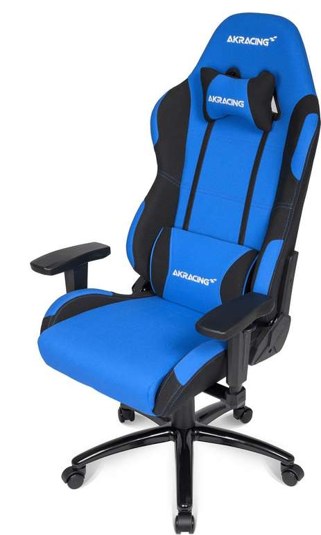 AKRacing Core EX Gaming Stuhl in blau/schwarz für 205,99€ inkl. Versand (statt 259€)