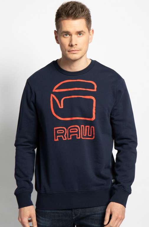 G-Star Herren Sweatshirt Graphic in navy für 38,15€ inkl. Versand (statt 50€)