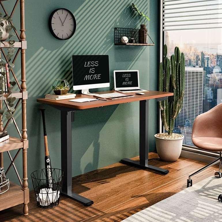 Flexispot Schreibtisch Elektrisch Höhenverstellbar E1 (120×60cm)  für 195,49€ inkl. Versand (statt 280€)