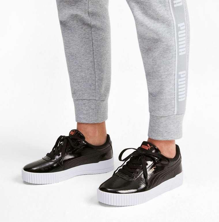 """Puma """"Carina P"""" Damen Sneaker in schwarz für 27,28€ inkl. Versand (statt 58€)"""