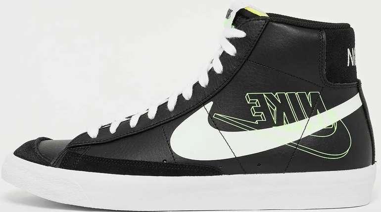 """Nike Blazer Mid '77 Herren Sneaker im """"Black/Volt""""-Colourway für 45,99€ inkl. Versand (statt 95€)"""