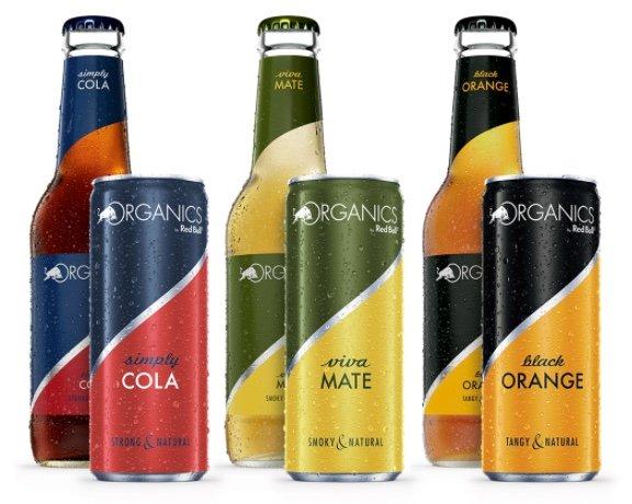 Gratis: Red Bull Organics Probierpaket komplett kostenlos sichern!