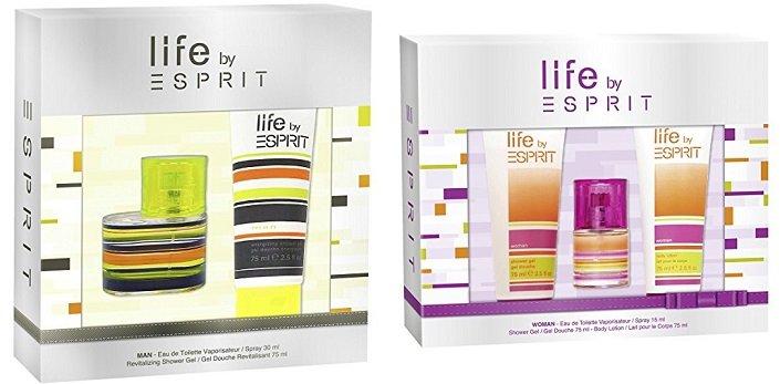 Esprit Life Herren -/ Damen Geschenkset für je nur 8,95€ mit Prime